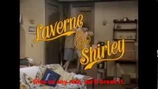 Laverne & Shirley Opening Theme Song With Lyrics(Best Version On Youtube)