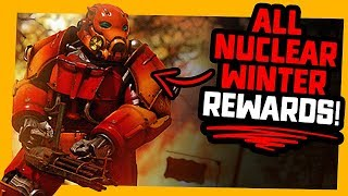 Fallout 76   All Nuclear Winter Rewards!