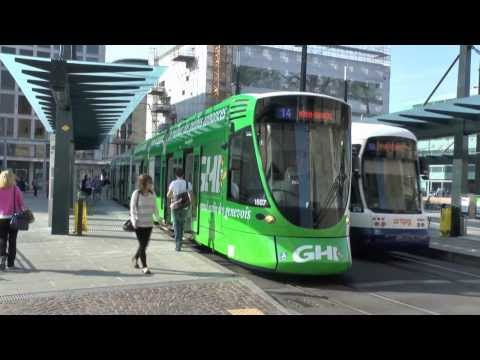 31/08/13 - Trams & Trolleybuses - Geneva - Switzerland