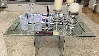 DIY: aprenda a fazer uma mesa de centro espelhada
