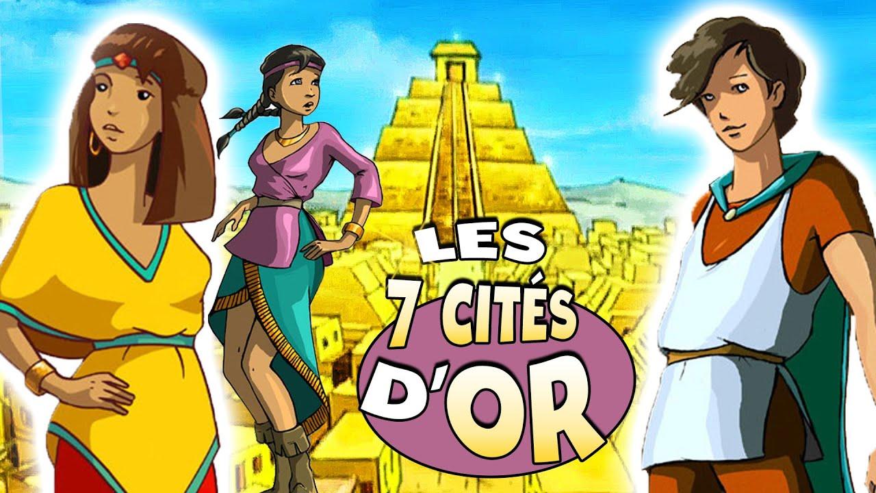 Les Sept Cités d'Or - Dessin Animé COMPLET en Français
