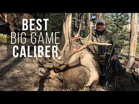 Best Caliber For Western Big Game Hunting