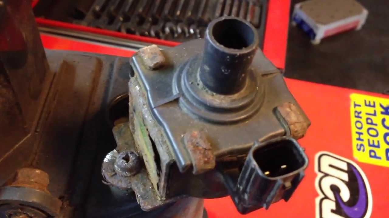 Honda Check Engine Light, Canister Vent Shut Valve Operation  YouTube