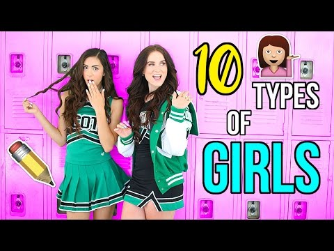 Thumbnail: 10 Types of Girls at School!
