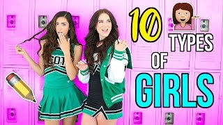 One of Cassie Diamond's most viewed videos: 10 Types of Girls at School!