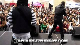 Miguel & J. Cole Perform All I Want Is You at Funk Flex Car Show
