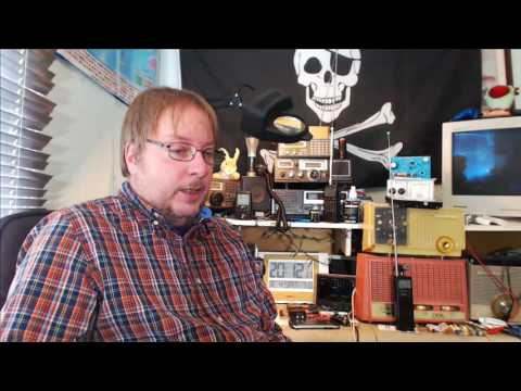 Shortwave radio live show March 4th 2017 Pirate Radio night