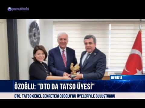 Pamukkale DTO üyeleri, TATSO Genel Sekreteri ile buluştu 13 10 2018