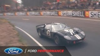 Lost Footage Discovered from 1966 | Le Mans | Ford Performance