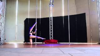 Dayene K. 3rd Place Advanced - 2015 Epic Pole Dance Competition