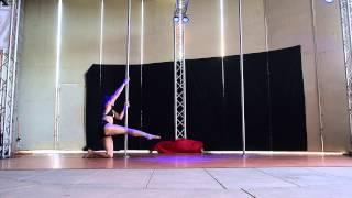 Dayene K. 3rd Place Advanced - 2015 Epic Pole Dance Competition