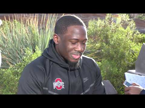 Johnnie Dixon: Ohio State receiver talks at Disneyland ahead of Rose Bowl