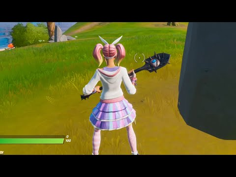 """The """"VISION"""" PICKAXE IS BACK! PINK """"LACE"""" SKIN GAMEPLAY Showcase 