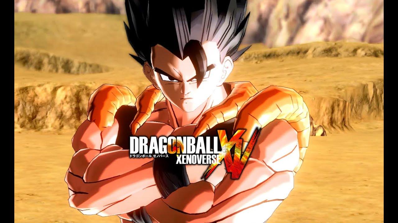 Dragon Ball Xenoverse - Base Form Gogeta Gameplay - YouTube