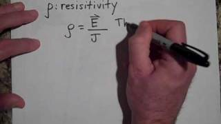 Resistivity, Resistance, and Conductivity