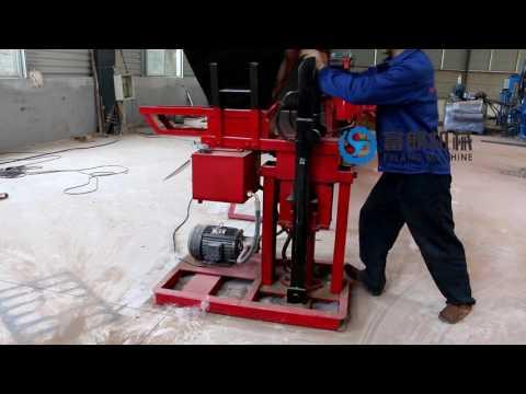 FL1-25 electric motor interlocking mud brick block making machine price in South Africa