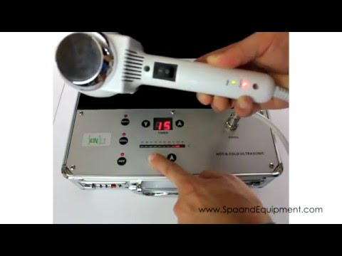Cold And Hot Therapy Spa Facial Machine Instrument