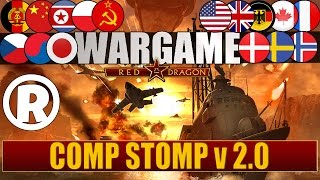 Wargame Red Dragon: -Gameplay- Comp Stomp v2.0