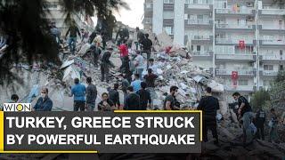 Earthquake Hits Turkey & Greece, Bringing Deaths & Floods | World News | WION News
