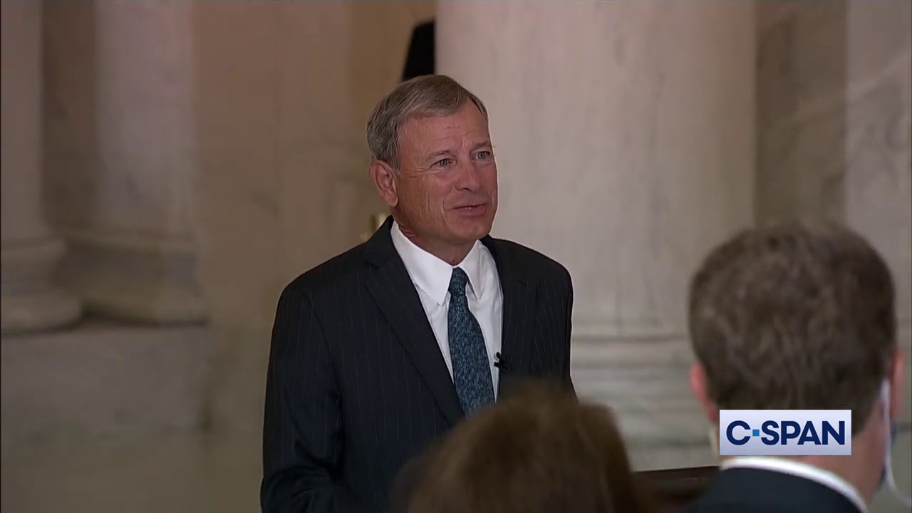 Chief Justice Roberts tribute to Justice Ruth Bader Ginsburg