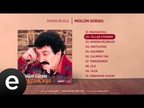 Yıllar Utansın (Müslüm Gürses) Official Audio #yıllarutansın #müslümgürses - Esen Müzik
