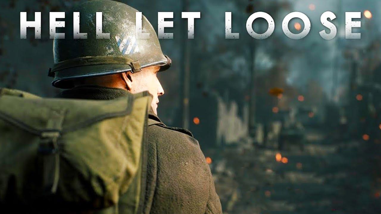 Hell Let Loose - Apanhando no FPS Insano de Segunda Guerra Mundial!!! [ PC - Gameplay 4K ]