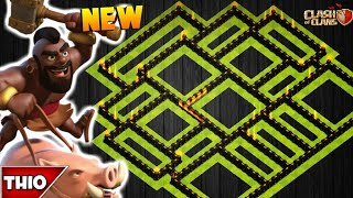 NEW TOWN HALL 10 TROPHY/FARMING BASE 2018! TH10 HYBRID FARM BASE WITH REPLAYS! - CLASH OF CLANS(COC)