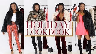 HOLIDAY LOOKBOOK INSPIRED