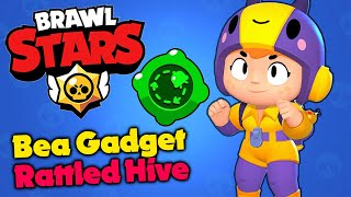 Brawl Stars - The Most BROKEN Gadget - Bea's Rattled Hive!! - Gameplay Walkthrough (iOS, Android)