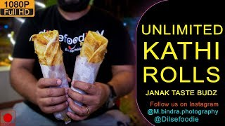 Unlimited Kathi Rolls & Momos At Just 199Rs
