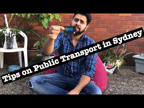 Tips On Public Transport In Sydney, Australia | Opal Travel | Trip View Lite App