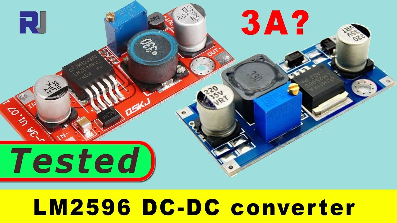 Lm2596 2v 37v 3a Voltage Step Down Converter Module Tested Reviewed Power Supply Regulator 38v Electronic Projects Circuits