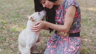 Спасение собаки инвалида, невероятно счастливый конец истории.
