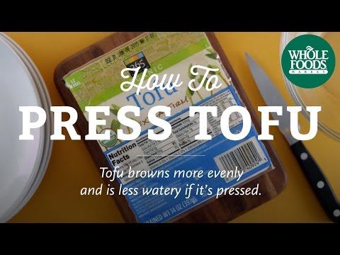 Your Tofu Sucks Because You Don't Press It. This Is How To Get It Done.