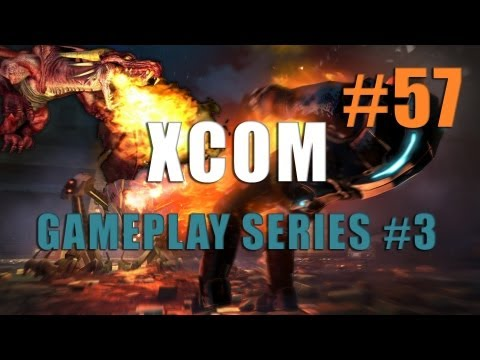XCOM Enemy Unknown - Gameplay Series #3 - Part 57 - Operation Avenger - Pt 2 (Ending)