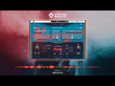 UJAM Instruments Preset Show – Virtual Bassist ROWDY as Rack Extension