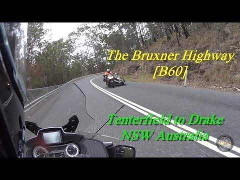 Riding the Bruxner Hwy - New South Wales, Australia
