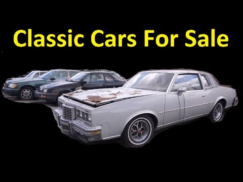 BUY OLD CLASSIC BARN FIND CARS ~ MUSCLE EURO ~ FOR SALE WALKAROUND