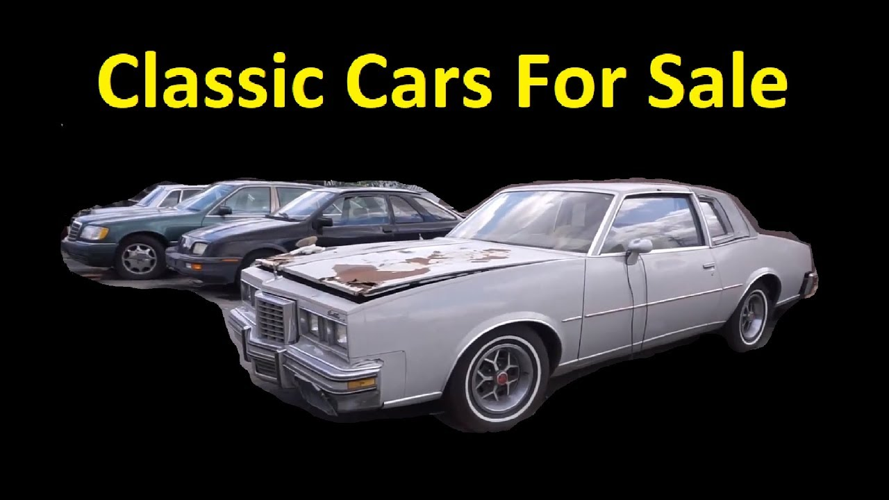 BUY OLD CLASSIC BARN FIND CARS ~ MUSCLE EURO ~ FOR SALE WALKAROUND ...