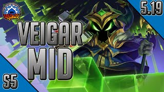 League of Legends - Final Boss Veigar Mid - Full Game Commentary