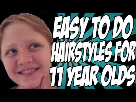 Easy To Do Hairstyles For 11 Year Olds - Easy To Do Hairstyles For 11 Year Olds - YouTube