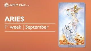 Aries Weekly Reading Psychic Tarot Horoscope   Week 37   4 - 10 September