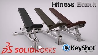 Video DESIGN FITNESS BENCH | 3D PRODUCT | MODELING | ANIMATION | SOLIDWORKS | KEYSHOT | INDONESIA download MP3, 3GP, MP4, WEBM, AVI, FLV Mei 2018