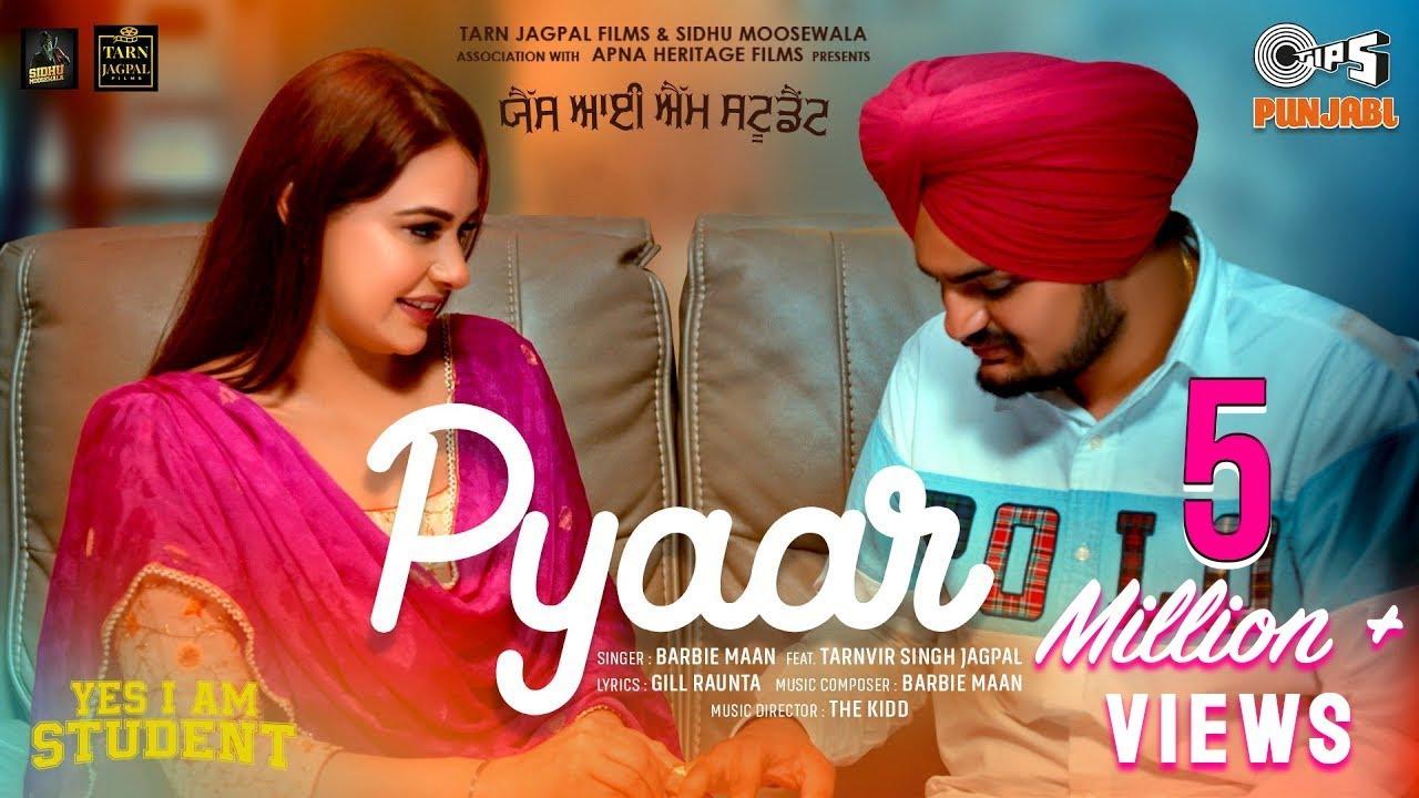 Pyaar | Yes I Am Student, Sidhu Moose Wala, Mandy T, Barbie Maan, Feat. Tarnvir Singh Jagpal, 22 Oct