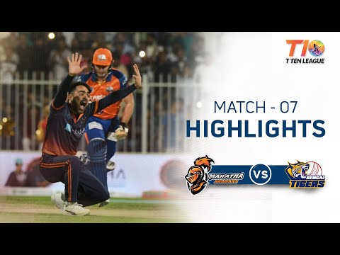 Match 7, Maratha Arabians Vs Bengal Tigers, T10 League Season 2