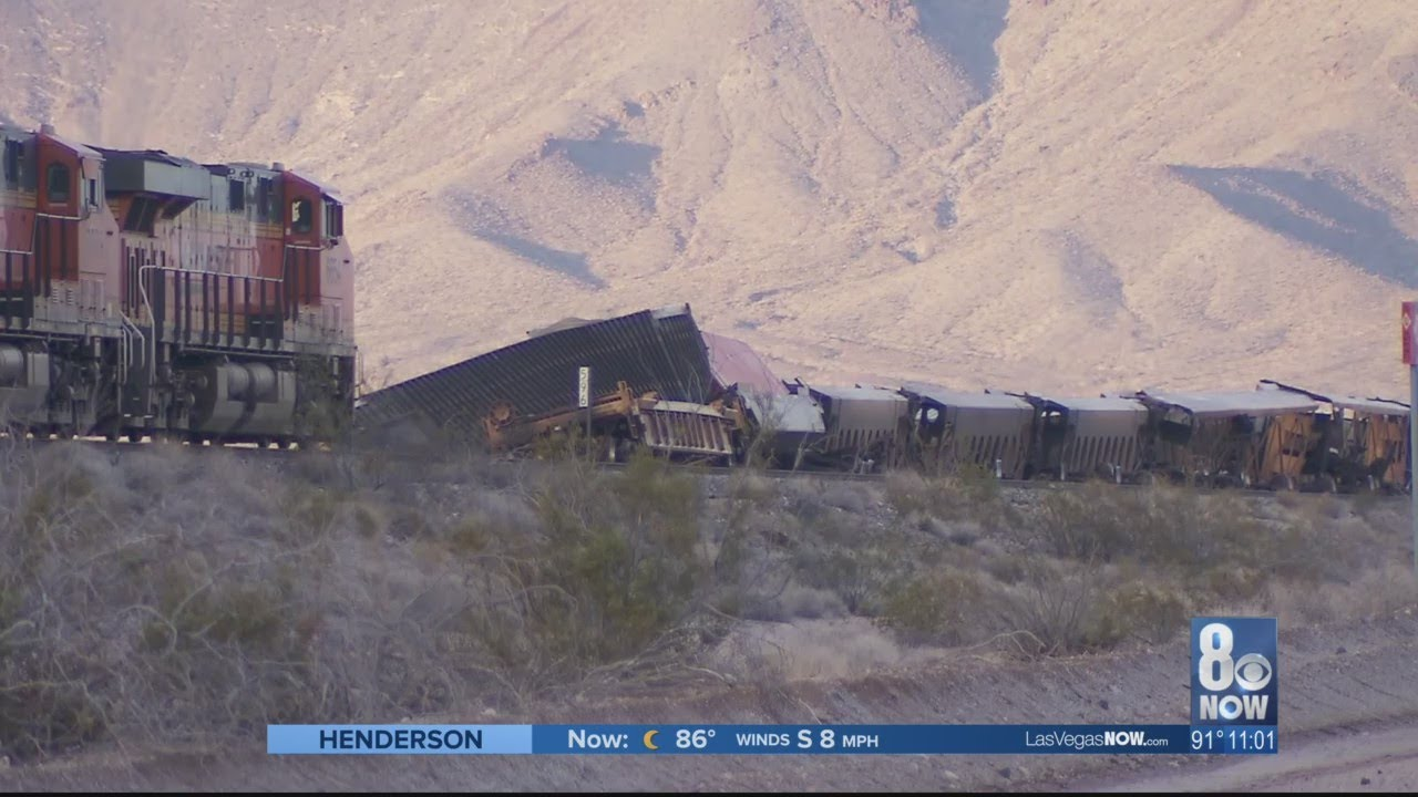 Flooding, train derailment closes US 95 at Nevada California border
