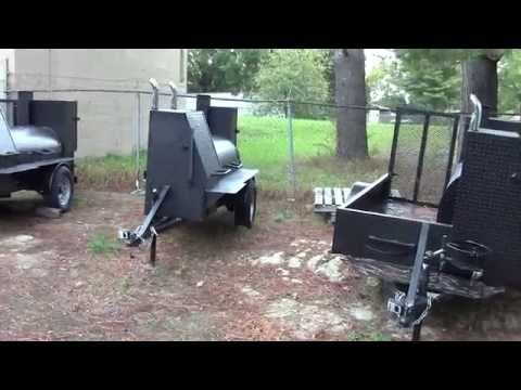 Custom BBQ Smoker Catering Food Truck Business Grill Football Tailgate FOR SALE Smoker BBQ Pit
