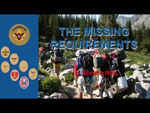 Missing Requirement 1: Scoutmaster Conferences