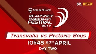Transvalia vs Pretoria Boys High - Kearsney Easter Rugby Fest 2019