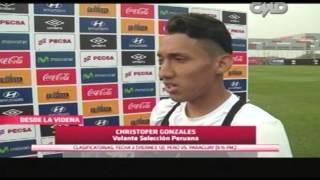 Central CMD: Declaraciones de Christofer Gonzales (selección peruana)